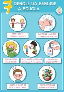 7 regole d a seguire a scuola
