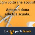 Dona alla tua scuola con Amazon